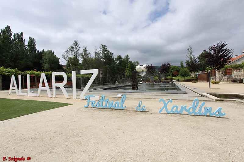 Allariz, jardinería creativa iluminando el mapa de Galicia