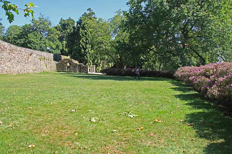 Parque de Bonaval cesped