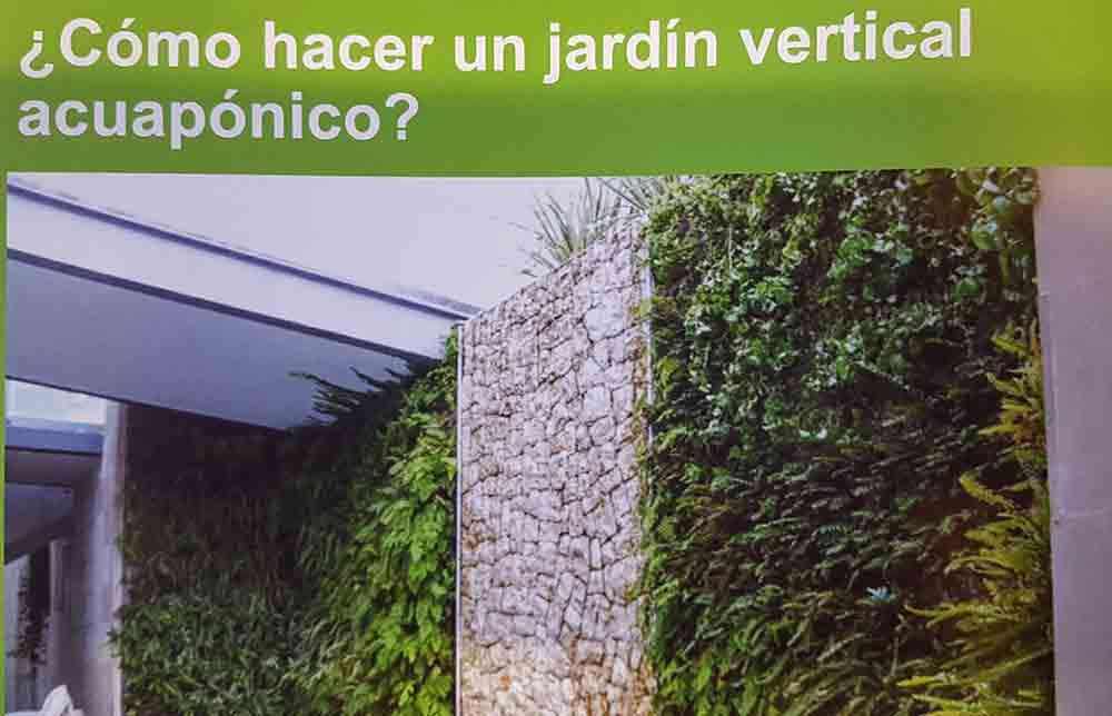 Revista de jardineria los profesionales del jard n que for Como se hace un jardin vertical
